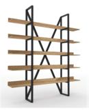 Online Designer Business/Office Vintage Industrial Wood Shelf