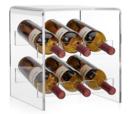 Online Designer Other Claro Acrylic Counter Wine Rack