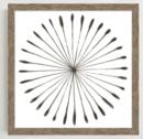 Online Designer Combined Living/Dining Framed Print - Watercolor Burst I