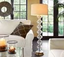 Online Designer Combined Living/Dining JASMINE GLASS FLOOR LAMP BASE