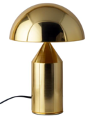 Online Designer Dining Room Atollo Table Lamp - Brass