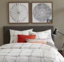 Online Designer Combined Living/Dining Framed Print - Watercolor Burst