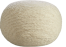 Online Designer Living Room wool wrap natural pouf