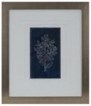 Online Designer Hallway/Entry SIMPLE FLOWER ON INDIGO WALL ART