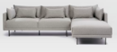 Online Designer Living Room Halsey 3-Piece Sectional