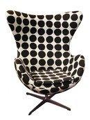 Online Designer Living Room Replica Arne Jacobsen Egg Chair – Black Dot