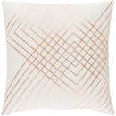 Online Designer Dining Room Golden Stripes Pillow