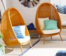 Online Designer Living Room Woven Cave Chair