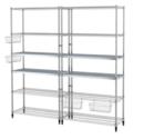 Online Designer Business/Office Omar 2 section shelving unit.