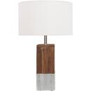 Online Designer Bedroom Restoration Wood Base Desk Lamp