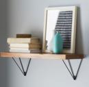 Online Designer Living Room Reclaimed Wood Shelving + Brackets