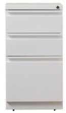 Online Designer Living Room Drew 3 Drawer Mobile Pedestal File Cabinet