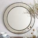 Online Designer Living Room Antique Tiled Round Mirror