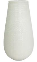 Online Designer Bathroom Textured Ceramic Vase White Tall - Threshold™