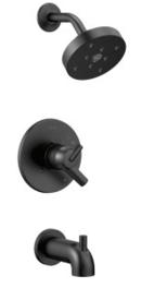 Online Designer Bathroom Delta Faucet T17459-BL Trinsic Single Handle Monitor 17 Series Tub & Shower Faucet Trim