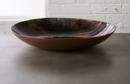 Online Designer Combined Living/Dining nova hand painted glass bowl