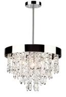 Online Designer Living Room Delesha 4-Light Crystal Chandelier