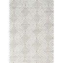 Online Designer Living Room Boulevard Light Gray/White Area Rug by Kalora
