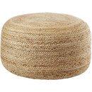 Online Designer Living Room braided hemp jute pouf