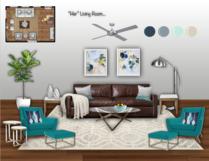 Black & White Living Room Jodi W. Moodboard 1 thumb