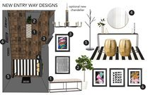 White Transitional Entry Way Courtney H. Moodboard 2 thumb