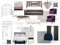 Glamorous Modern Home Interior Design Lynda N Moodboard 1 thumb