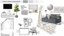 Livingroom Modern Upgrade  Lindsay B. Moodboard 2 thumb