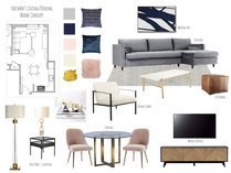 Contemporary with Neutral Tones Living Room Lynda N Moodboard 2 thumb