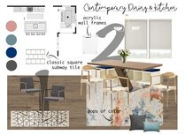 Contemporary Kitchen, Dining & Living Space Paaj Y. Moodboard 2 thumb