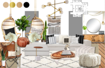 Bright and Modern Living Room Transformation Michelle B.  Moodboard 2 thumb