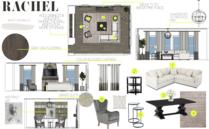 Transitional Living Room Decor Ideas   Rustic Accent Stone Taron H. Moodboard 2 thumb