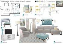 Contemporary with Neutral Tones Living Room Marina S. Moodboard 1 thumb
