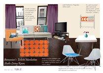Cozy and Eclectic Studio Design Vicki O Moodboard 2 thumb