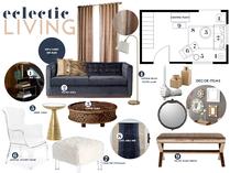 Eclectic/Modern Living Room Taron H. Moodboard 2 thumb