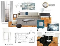Transitional Living Room and Bedroom Laura A. Moodboard 2 thumb