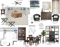 Beach Living room/Entry Picharat A.  Moodboard 1 thumb