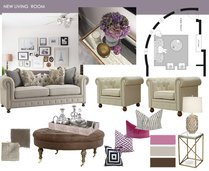 Elegant Living Room Design Laura D Moodboard 1 thumb