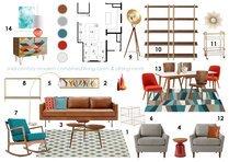 Hollys Bright Living/ Dining Room Anna T Moodboard 1 thumb