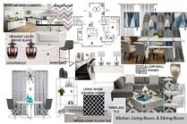 Elegant Modern Living Room Transformation  Brianna S. Moodboard 2 thumb
