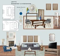 Modern Living Room and Eat In Kitchen  Linnea T Moodboard 1 thumb