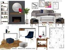 Cozy Living Room  Laura A. Moodboard 2 thumb