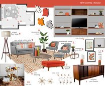 Modern Refresh for My Living Room  Laura D Moodboard 2 thumb
