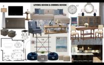 Grey Accented Living Room Transformation Noraina Aina M. Moodboard 2 thumb