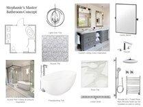 Contemporary Bathroom Remodel  Lynda N Moodboard 1 thumb