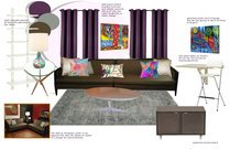 Cozy and Eclectic Studio Design Michelle C Moodboard 3 thumb