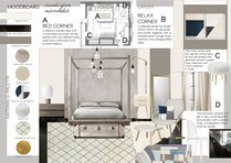 Elegant Gold Accented Bedroom Transformation Elisabetta R. Moodboard 1 thumb