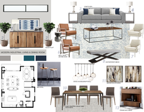Modern Living Kitchen Transformation Picharat A.  Moodboard 2 thumb