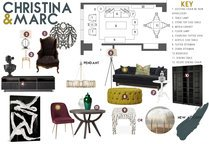 Glamourous Living/Dining Transformation   Taron H. Moodboard 1 thumb