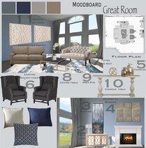 Classic & Elegant Neutral Living Room Gargi K. Moodboard 2 thumb