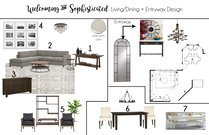 Neutral Transitional Living Space Brittany J. Moodboard 1 thumb